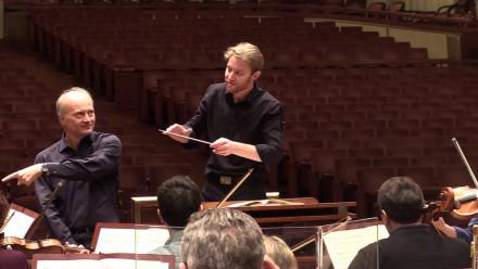 Leonard Weiss BMus 14: Masterclass with Maestro Noseda and the NSO at the Kennedy Center
